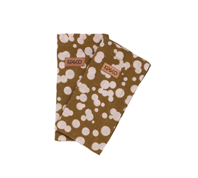 [ABODE] DALMATIAN MILITARY NAPKINS 6PC SET