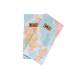 [ABODE] MARBLING BLUE NAPKINS 6PC SET
