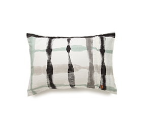[ABODE] INKY WINK GREY PILLOWCASE SET OF 2