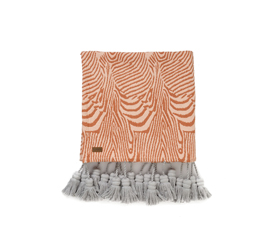 [ABODE] SANDLINES TASSEL BED THROW