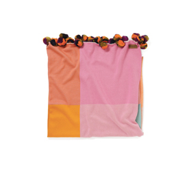 [ABODE] RUBIX ORANGE BLANKET (LARGE)