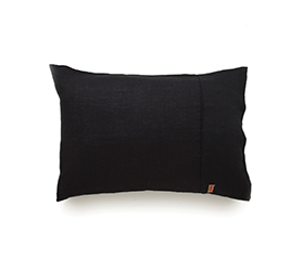 [ABODE] BLACK PILLOWCASE SET OF 2
